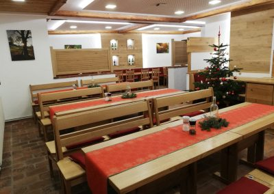 Dekoration Weihnachtsfeier